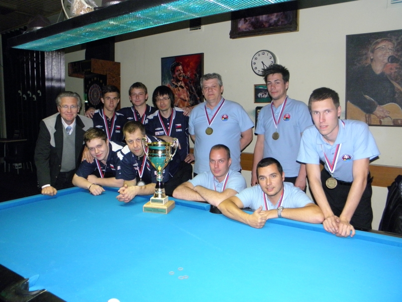Federal Cup 2013 Slovensko-Česko 13:5