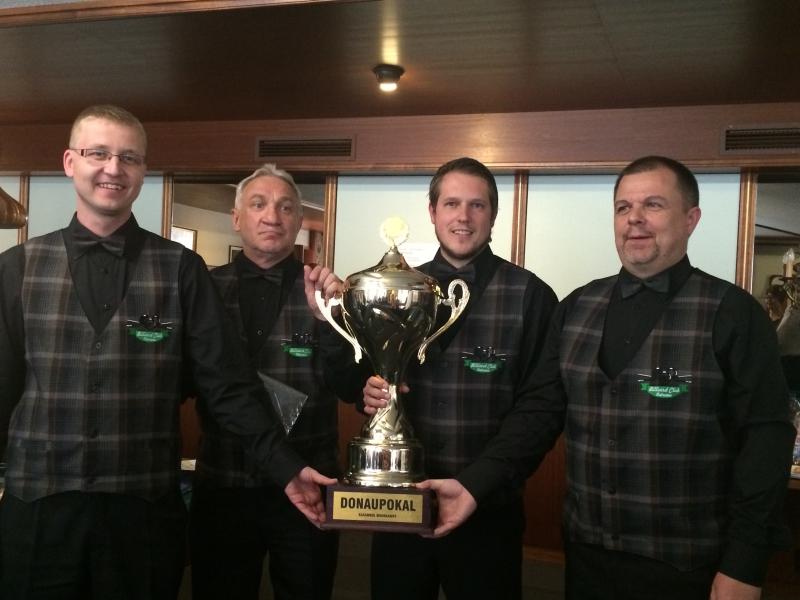 BC Ostrava - vítěz Dunajského poháru 2015