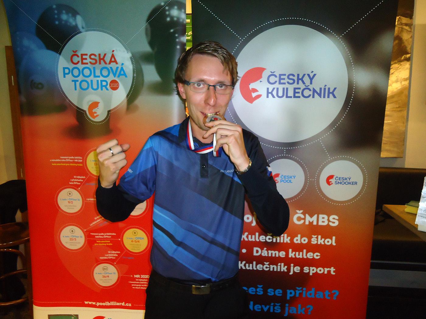 V prvním turnaji po obnovení soutěží vítězí Jan Meisner!