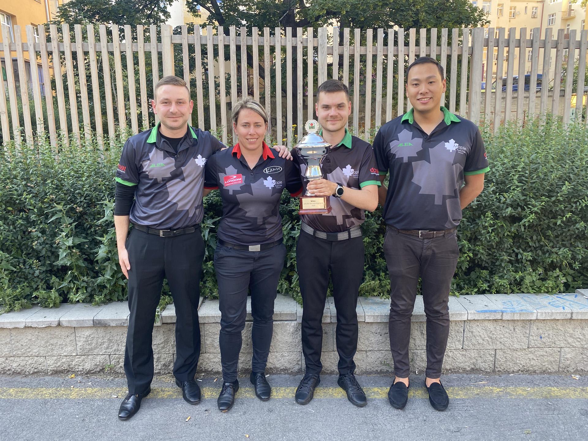 V extralize týmů získává pohár MPC Pardubice A!